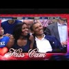 LOL! The Obama's Caught On The NBA Kiss Cam