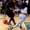Funny Shit: Teyana Taylor Gets CROSSED UP, ANKLES BROKEN!