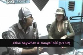 Mina SayWhat with Kangol Kid