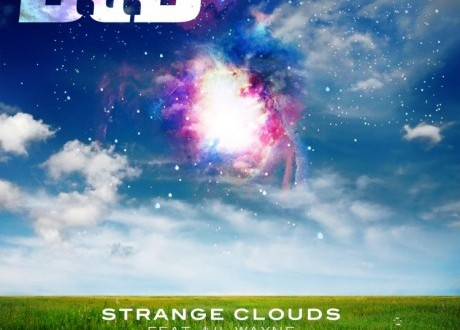 b.o.b. strange clouds cover art
