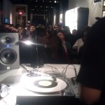 DJ Scratch djing on 45s