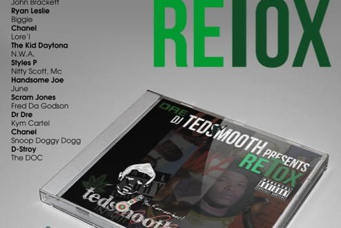 Ted Smooth Retox cover art