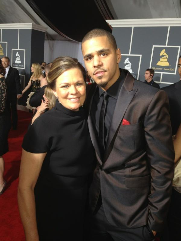 J Cole Mother And Father J Cole and His Mom Gra...