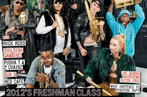 xxl 2012 freshman cover