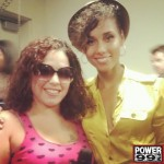 Alicia Keys And Mina SayWhat At Obama Rally In Philly