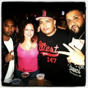 Miguel, Mina SayWhat, DJ Juanyto, DJ Khaled