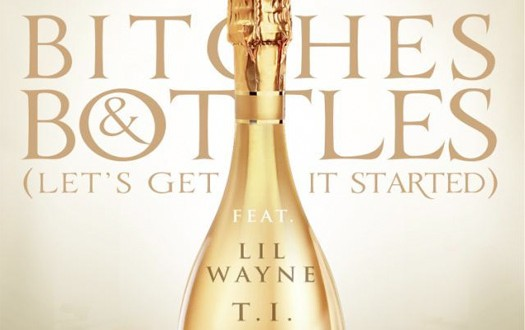 dj khaled bithes bottles artwork