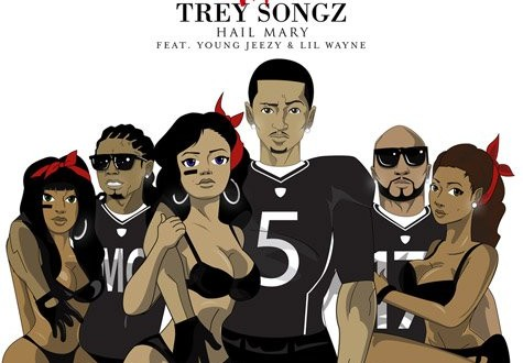 Trey Songz Hail Mary Artwork