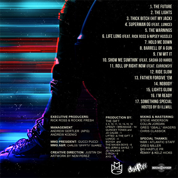 electric highway tracklist