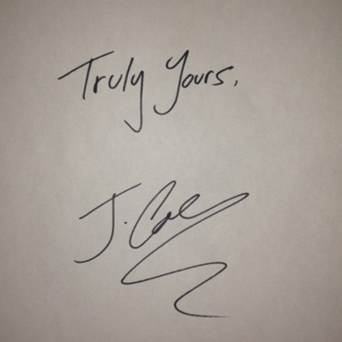 J. Cole+Truly Yours+Cover