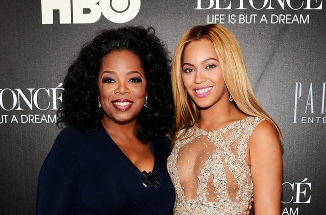 bey and oprah
