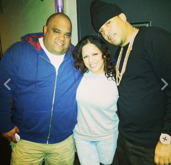 Gabe, Mina SayWhat and French Montana
