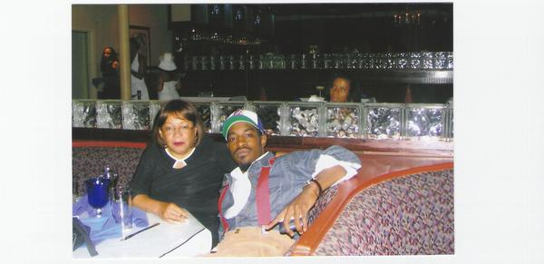 Andre 3000 and mom