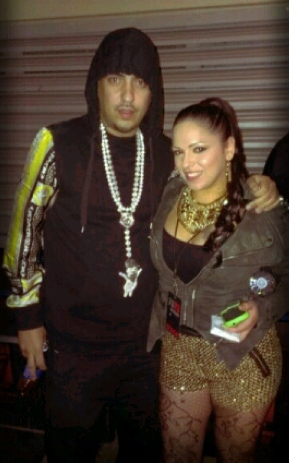 French Montana and Mina SayWhat