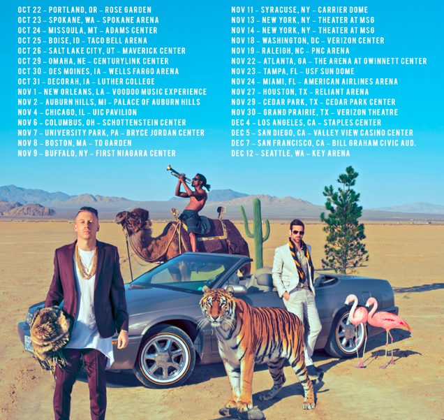 Macklemore And Ryan Lewis Tour Dates