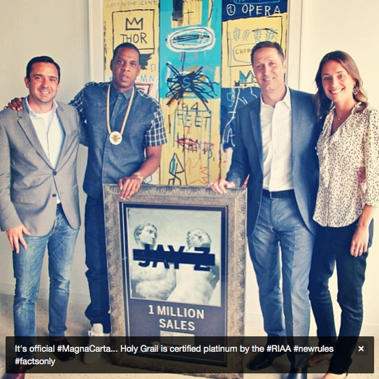Jay Z RIAA Certification