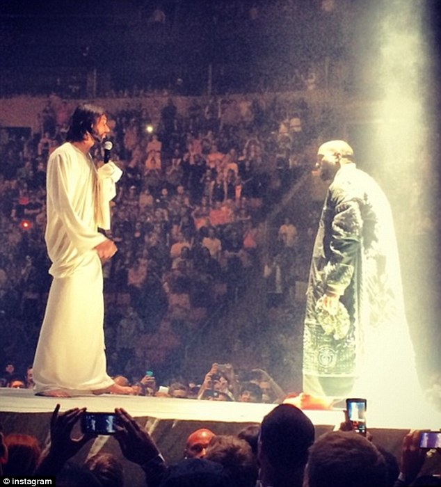 Kanye West and Jesus
