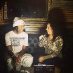 Mina SayWhat Interviewing Mike Zombie