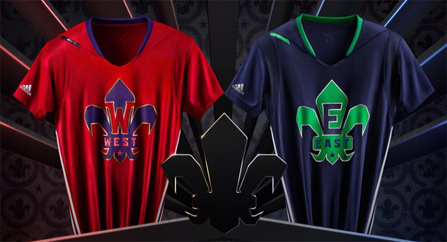 NBA 2014 All Star Shirts