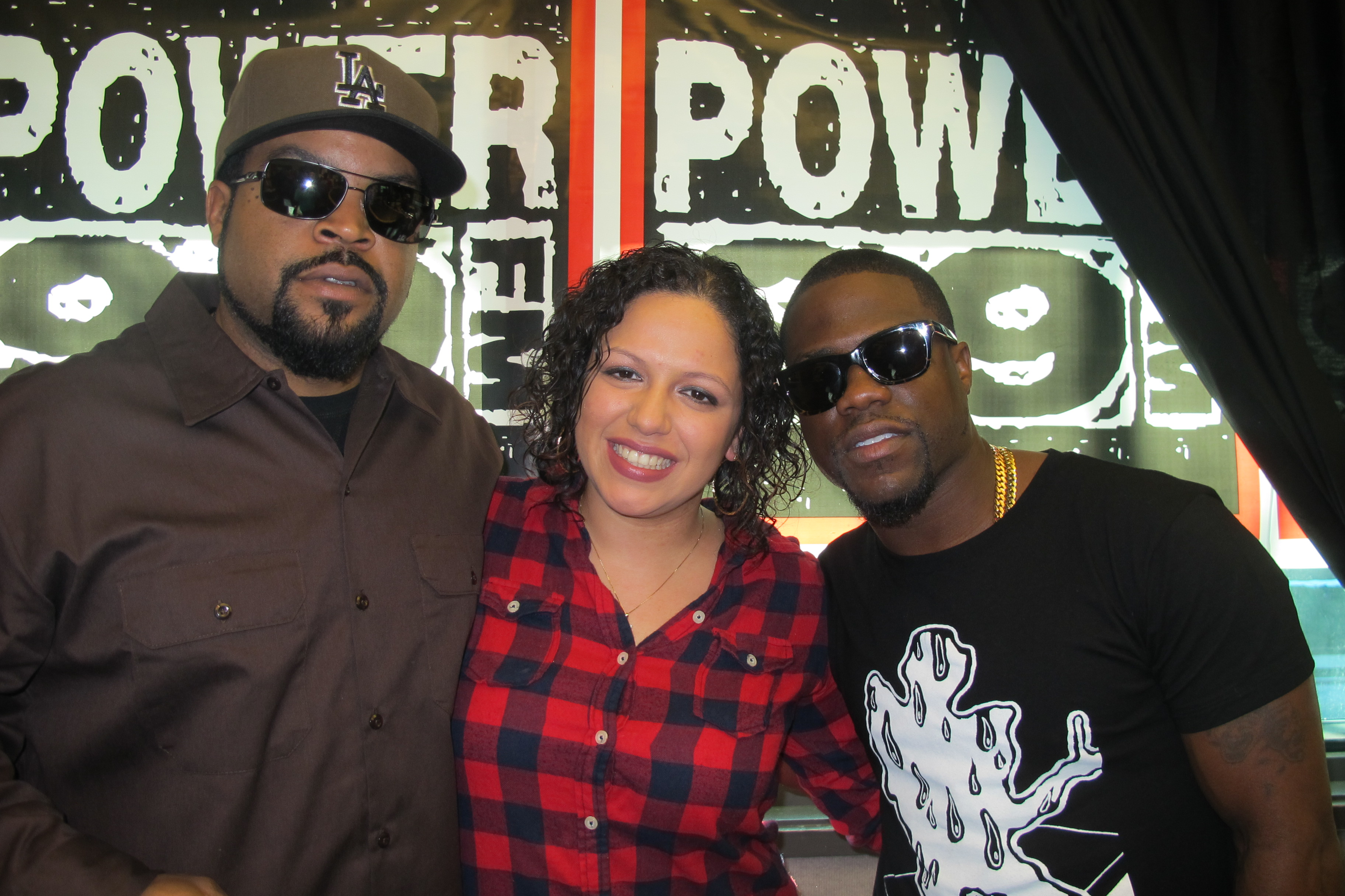 ICE CUBE, MINA SAYWHAT, & KEVIN HART