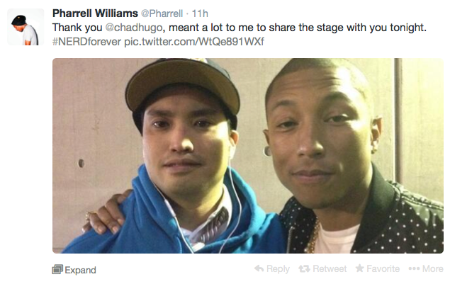 Pharrell And Chad At All Star Game