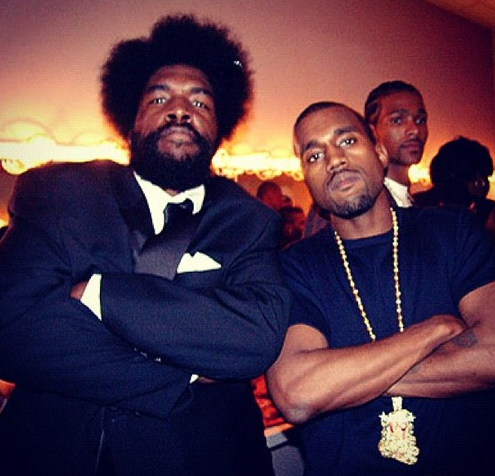 questlove and kanye
