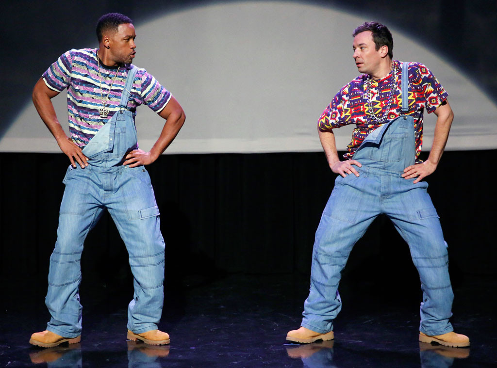 Will Smith and Jimmy Fallon Dancing