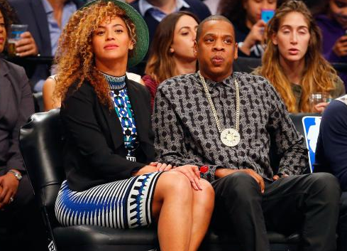 Jay Z Wearing 5 Percent Chain
