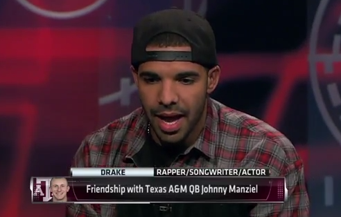 Drake, Johnny Manziel