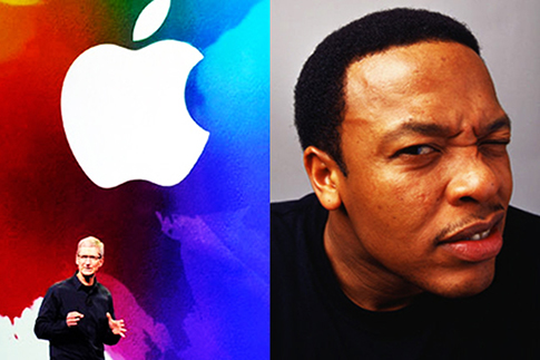 apple, dr dre