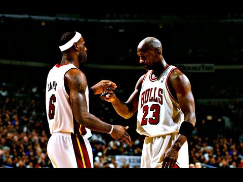 lebron and mj
