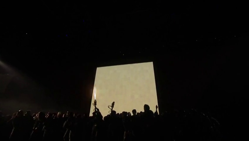 "Kanye West Mobs Stage At Brit Award Show; Debuts ""All Day"" (Live Performance)"