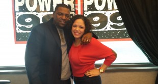 Mina SayWhat and Mekhi Phifer