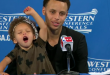 RIley Curry and Steven Curry