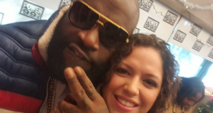 Rick Ross and Mina SayWhat