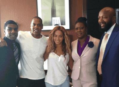 Beyonce, Jay Z, Black Lives Matter