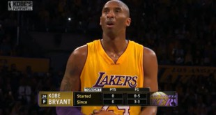 #SayWhat Watch Kobe Bryant Score 60 Points During Final NBA Game