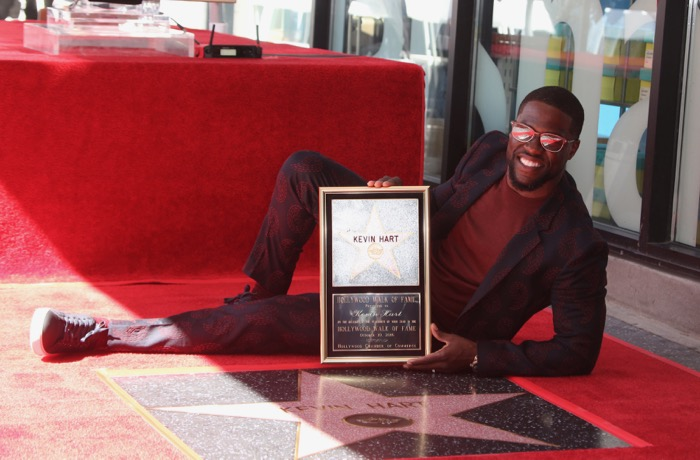 Comedian Kevin Hart is honored with a star on the Hollywood Walk of Fame Featuring: Kevin Hart Where: Hollywood, California, United States When: 10 Oct 2016 Credit: FayesVision/WENN.com