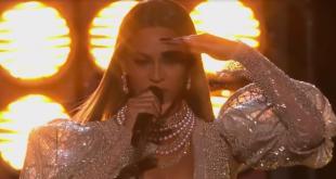 Beyonce at CMAS