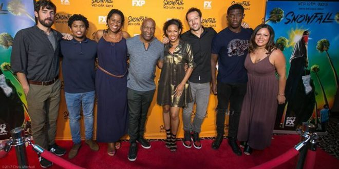 event fx s snowfall philly premiere with director john singleton