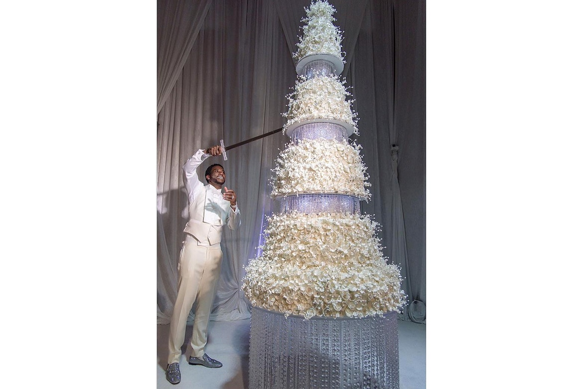 Gucci Wedding Cake Sword